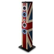 Diffusore da Pavimento UK Shiny Bluetooth Potenza 40W Radio FM Display LED