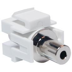 Adattatore Keystone Stereo Jack 3.5mm F / F