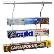 Portapellicola, Carta Forno Alluminio Artik Per Barra
