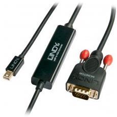 41963 Mini Displayport VGA Nero cavo di interfaccia e adattatore