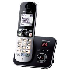 KX-TG6821JTB Telefono Cordless con Segreteria Colore Nero / Argento