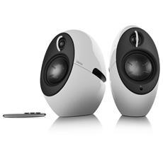 Luna Eclipse Coppia diffusori acustici 2,0 con connessione Bluetooth Colore bianco