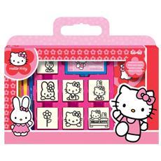 Valigetta 7 Timbri Hello Kitty 7803