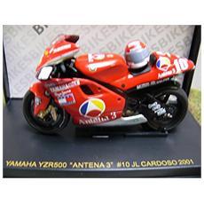 Rab006 Yamaha Yzr Antena 3 2001 N. 10 1/24 Modellino