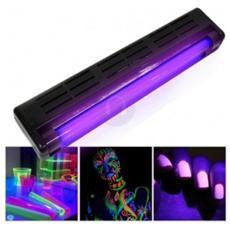 Lampada + Neon Luce Ultravioletti Uv Wood 45 Cm Art. 160413
