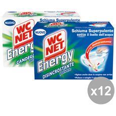 Set 12 Energy Misto X 4 Pezzi Detergenti Casa