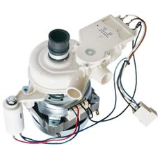 Indesit Ariston 115896 088896 C000115896 Motore Pompa Lavaggio Per Lavastoviglie - Motopompa 60w 4 Contatti 950h1i