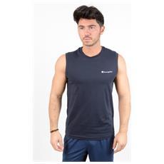 T-shirt Tee Ss Logo Piccolo Blu M