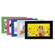 """Cornice Digitale 701 Display 7"""" Formato 16:9 Lettore SD / SDHC / MMC Colore Rosa"""