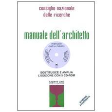 Manuale dell'architetto. Con DVD