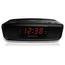 Radio Sveglia con Sintonizzazione Digitale Colore Nero
