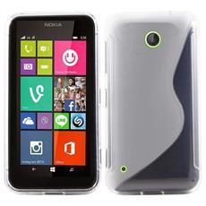 Cover S-Line Trasparente per Nokia 530