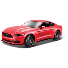 Ford Mustang 2015 1:18 (Bianco / Blu / Rosso)