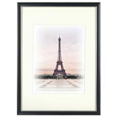 Capital Paris nero 21x30 legno incl. Passepartout 8155608