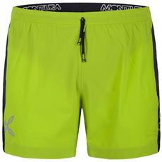 Shorts Montura Run Fast Uomo Acido