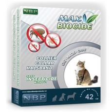 Collare Antipulci Gatto Diametro 42 Cm Max Biocide