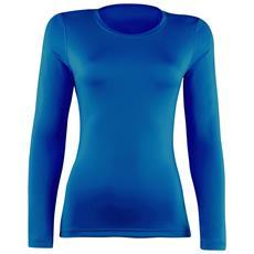 Maglia Sportiva Basica Donna (it 40) (blu Reale)
