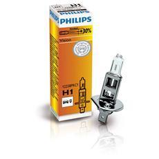 Sentiti al sicuro, guida con sicurezza. Il 30% in più di luce rispetto alle lampadine tradizionali. H1 12 V 55 W.