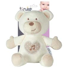 334411, Orso giocattolo, Bianco, Poliestere