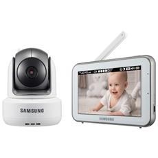 SEW-3043W Wi-Fi 274.32m Nero, Argento, Bianco monitor video per bambino