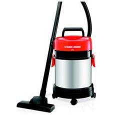 WBV1405P Aspira Solidi e Liquidi a Bidone Potenza 1400 Watt Colore Nero e Rosso