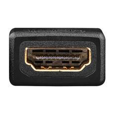 Wentronic 68841 19-pin mini HDMI M 19-pin HDMI FM Nero cavo di interfaccia e adattatore