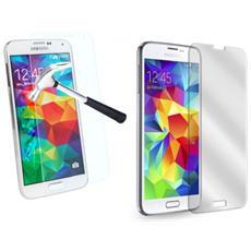 Pellicola Trasparente Vetro Temperato Smartphone Protegge Schermo Samsung S5