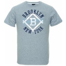 T-shirt Uomo Therma Brooklin S Grigio