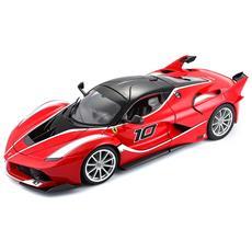 Giocattolo Veicolo Ferrari FXX-K Scala 1:18 Colore Rosso e Nero