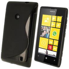 Cover S-Line Nero per Nokia 520
