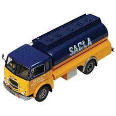Tru011 Fiat 682n 1966 Sacla Fuel Trasporter 1:43 Modellino