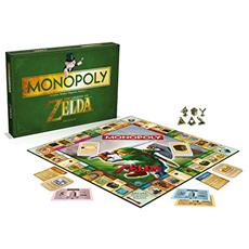 The Legend Of Zelda Board Game Monopoly *french Version*