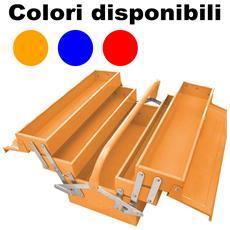 Cassetta Porta Attrezzi In Metallo Estensibile 49,5 X 20 X 29cm Organizer