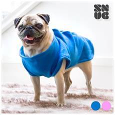 Copertina Per Cani Con Maniche One Doggy Snug Snug Rosa