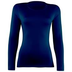 Maglia Sportiva Basica Donna (it 38) (blu Navy)