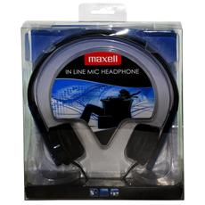 """HP MIC, Stereofonico, 3.5 mm (1/8"""") , Padiglione auricolare, Blu, Cablato, Sovraurale"""