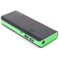 PMPB80BG, USB, Nero, Verde, Videocamera, Fotocamera, Lettore e-book, GPS, MP3, MP4, Telefono cellulare, Console portatile, Smart, Carica