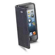 Custodia libro e tasche x IPhone5 - CELLULAR NERA
