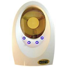 7000B Elettroinsetticida Plug-A ad aspirazione con 4 lampade LED Colore Bianco