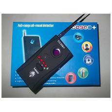 Rilevatore microspie bonifica cimici spy telecamere wireless cablate
