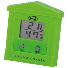 Termometro Digitale Con Igrometro Te 3002 Verde