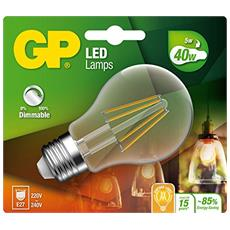 GP Lighting Filament Classic E27 5W (40W) dimmable 470 lm