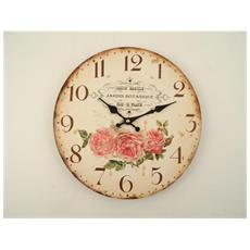Orologio A Muro Rose Rosa
