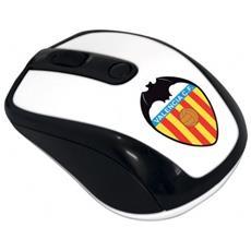 Mouse Ottico Wi-fi Muswn3-val Techmade Con Ricevitore Nano Usb Valencia Calcio