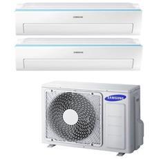 Condizionatore Fisso Dualsplit AJ040/2x09MSA Potenza 9000+9000 BTU / H Classe A++ / A+ Inverter e Wi-Fi