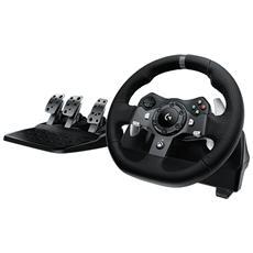 G920, Volante + Pedali, Cablato, Xbox One, USB 2.0, Nero