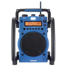 Radio Digitale Nera e Blu 10.3 x 15 x 6.7 cm U-3-EU