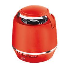 Vybe Minialtoparlante Wireless Potenza Totale 6W Bluetooth colore Rosso