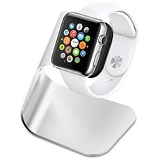 Supporto per Apple Watch con stand ricarica S330 in Alluminio