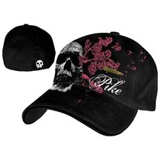 Pike - Black Flex With Skull & Bullet Patch (Cappellino)